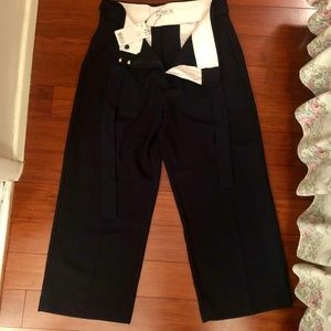 NWT Mango Bow Trousers